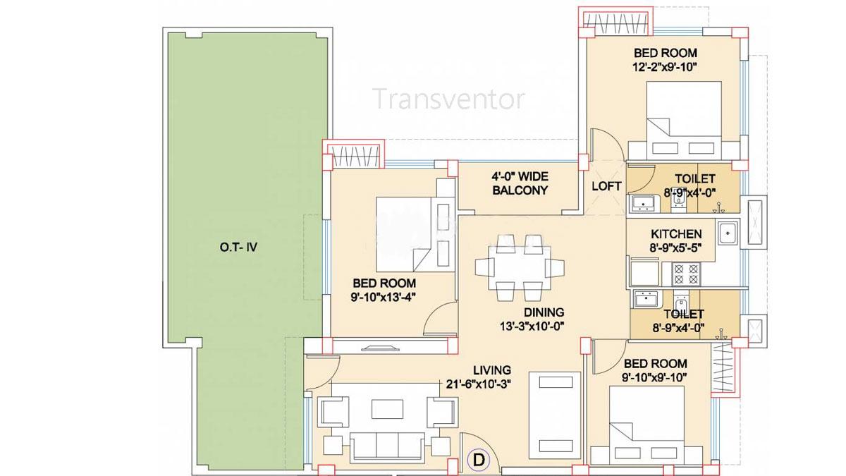 Adya Exotica Villa Floor Plan 5