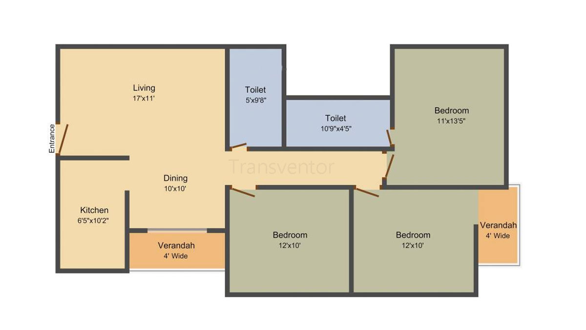 Rajwada Royal Garden Floor Plan 2