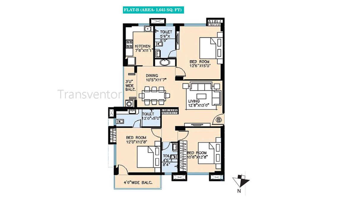 Vinayak Bellezza Floor Plan 3