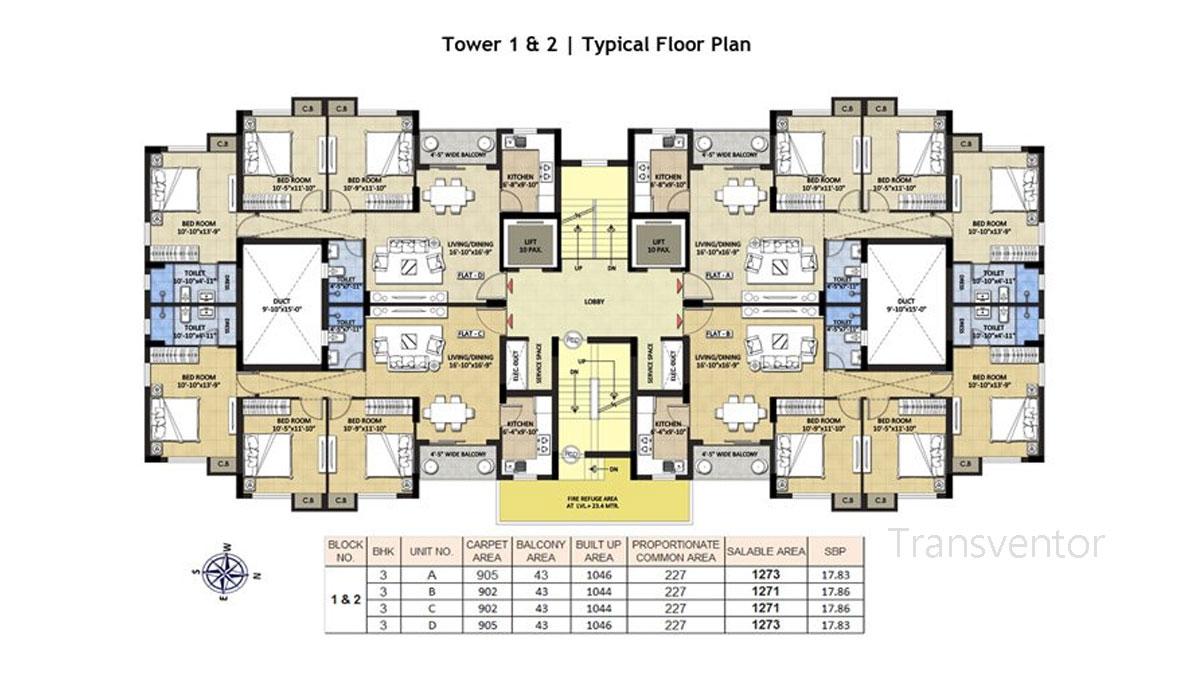 Devaloke Sonar City Floor Plan 3