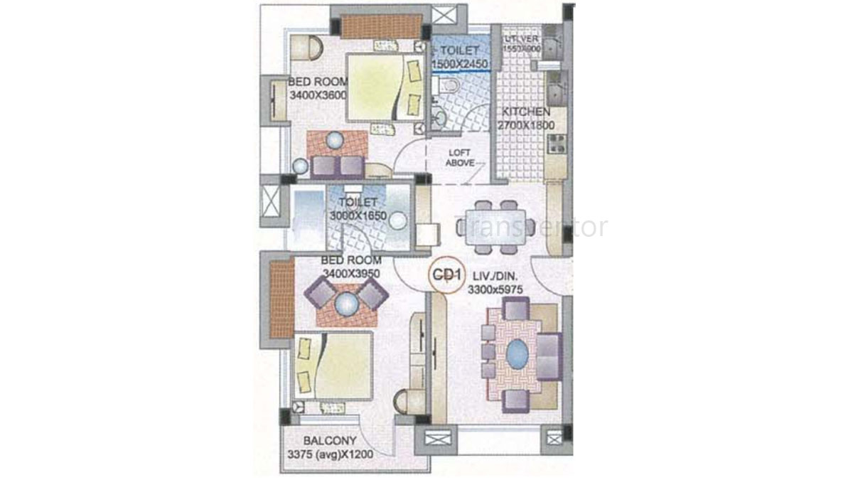 Ganguly 4 sight Florence Floor Plan 3