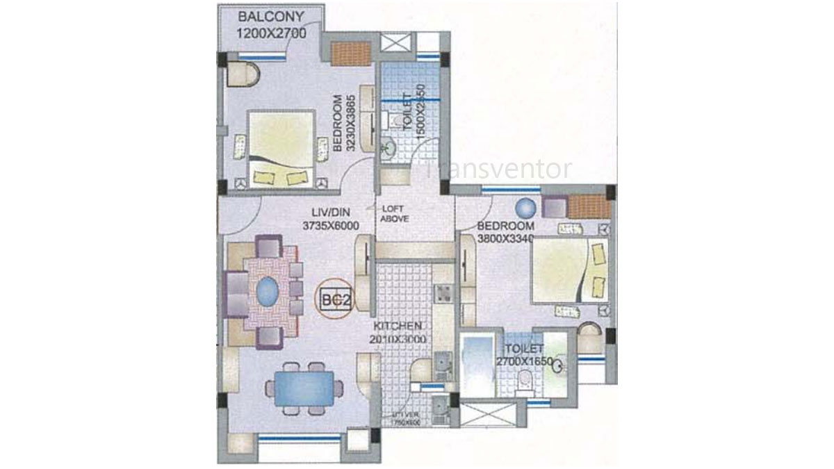 Ganguly 4 sight Florence Floor Plan 4