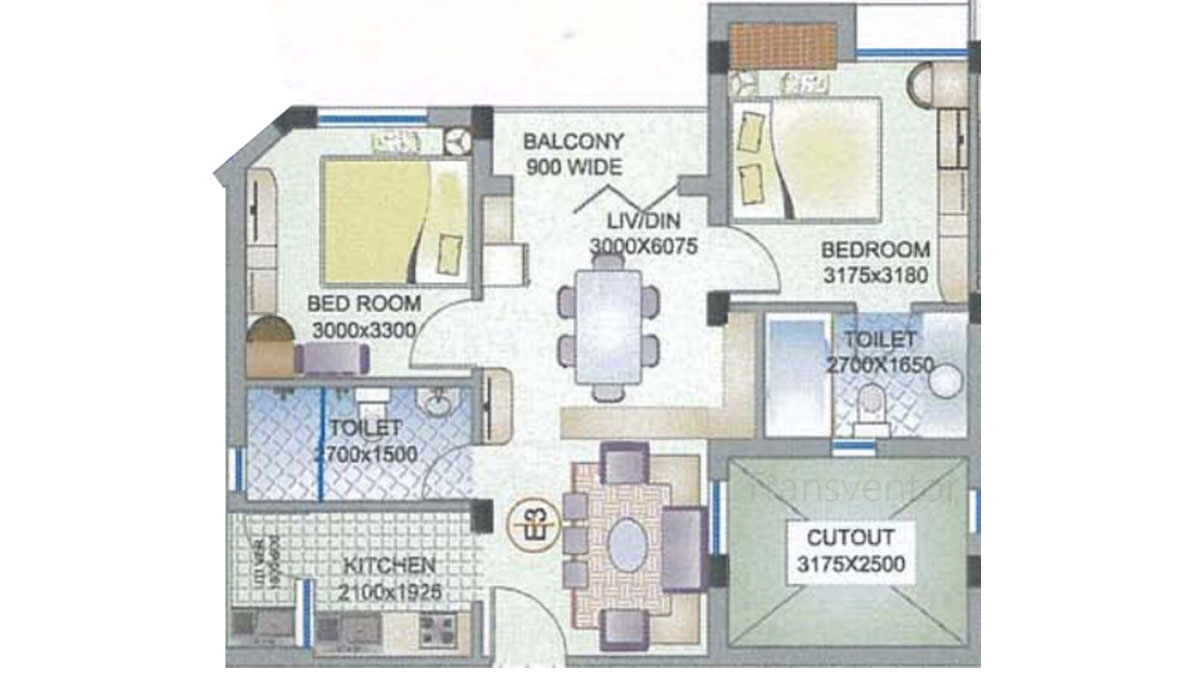 Ganguly 4 sight Florence Floor Plan 1