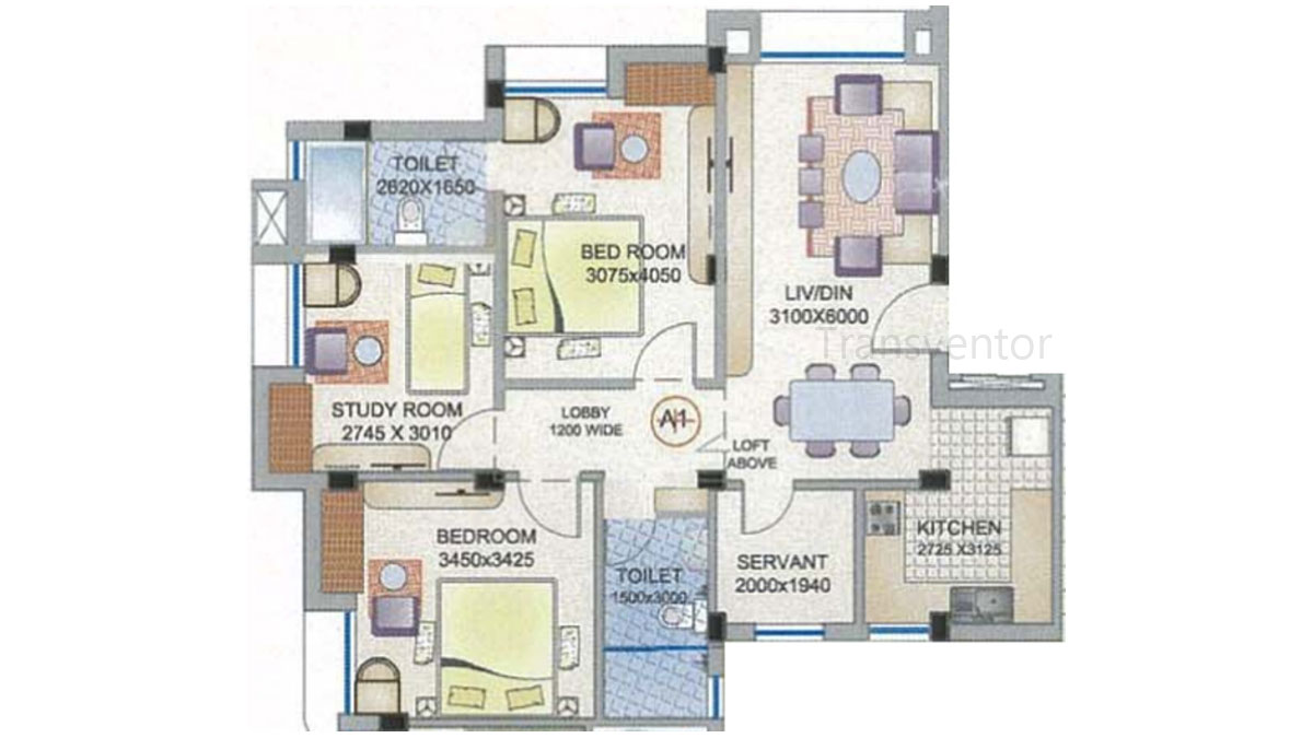 Ganguly 4 sight Florence Floor Plan 5
