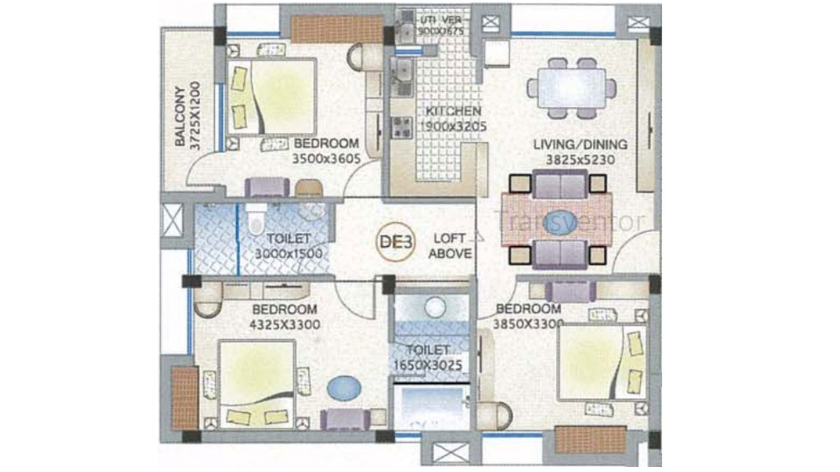 Ganguly 4 sight Florence Floor Plan 6