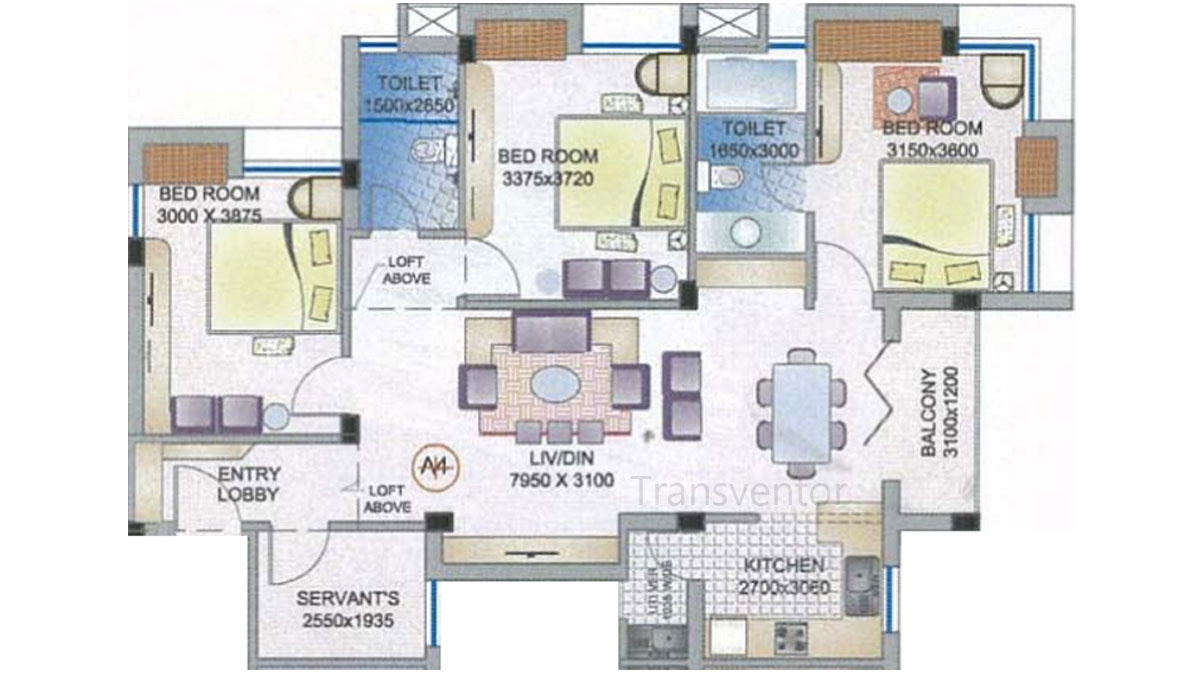 Ganguly 4 sight Florence Floor Plan 7