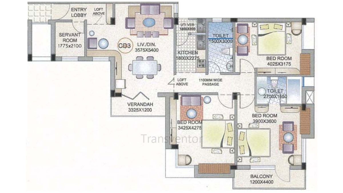 Ganguly 4 sight Florence Floor Plan 8