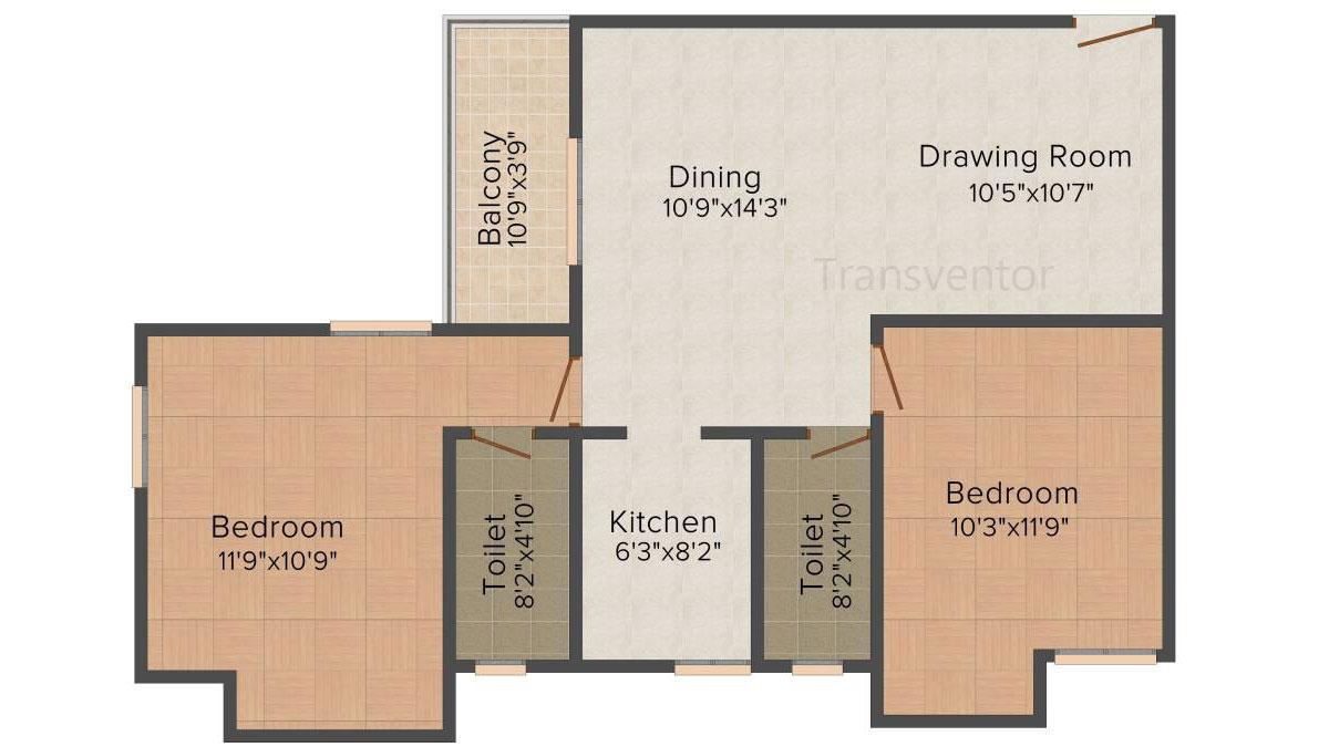 Ganguly 4 sight Grand Castle Floor Plan 3