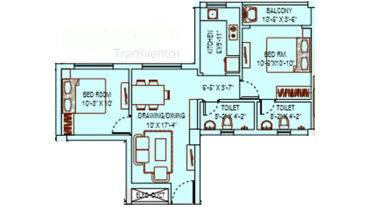 Ganguly 4 sight Grand Castle Floor Plan 2