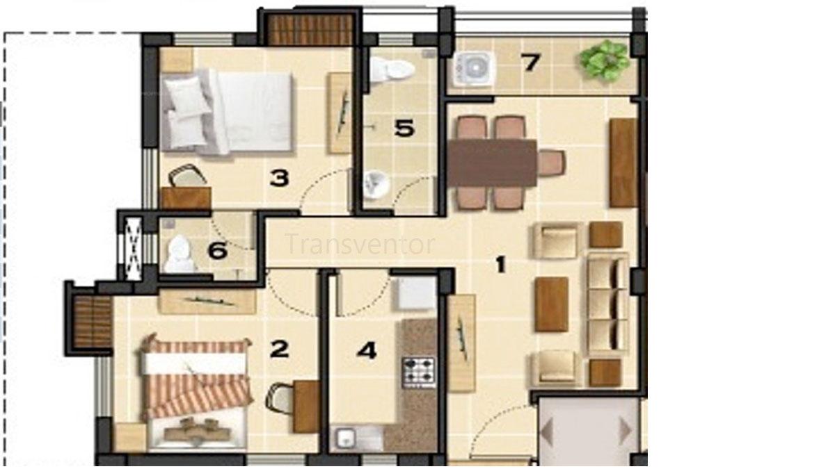 Ganguly 4 sight Olivia Floor Plan 2