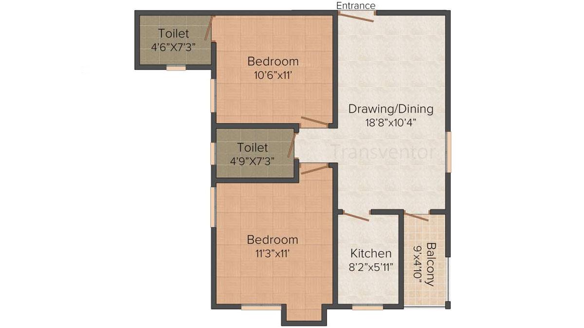 Ganguly 4 sight Olivia Floor Plan 1