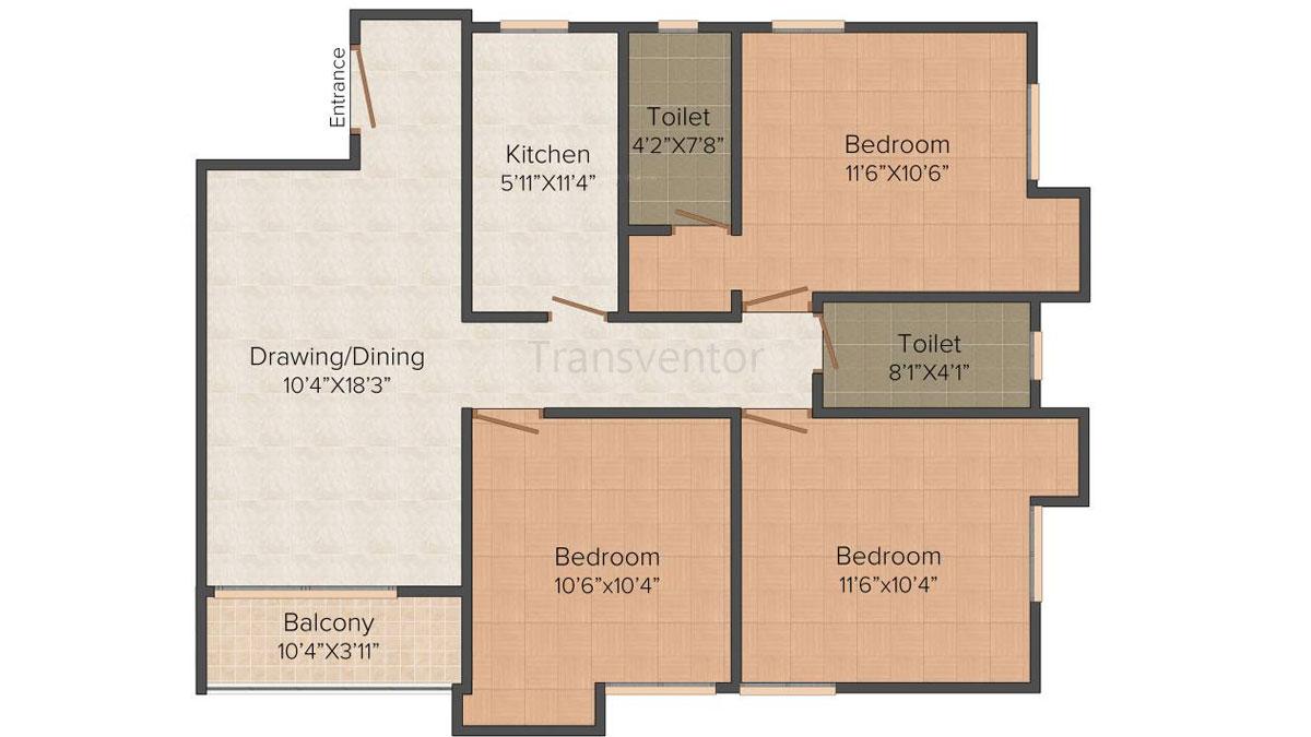 Ganguly 4 sight Olivia Floor Plan 5