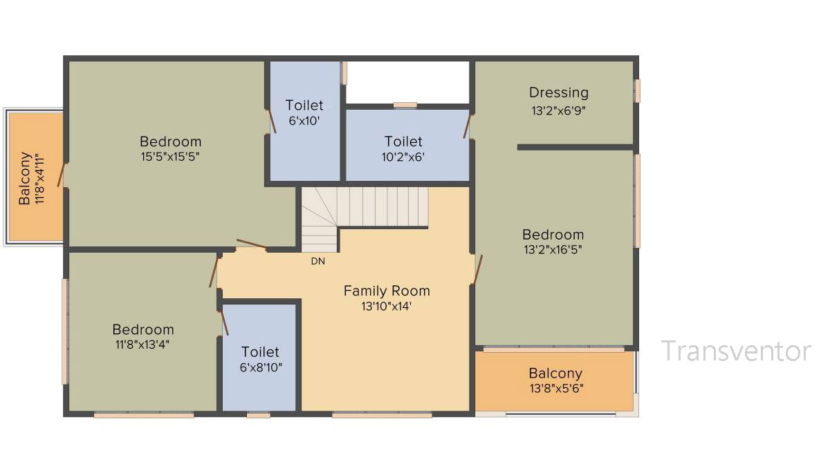 Ideal Villas Floor Plan 4