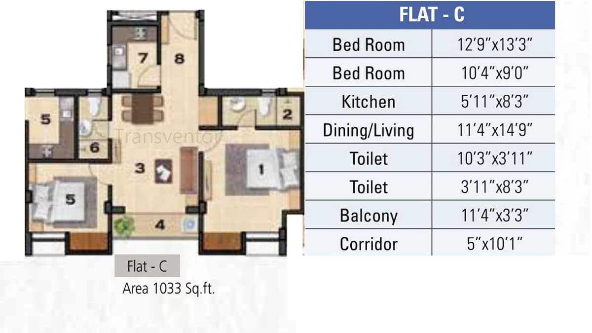 Ganguly 4sight Cityhouse Floor Plan 2