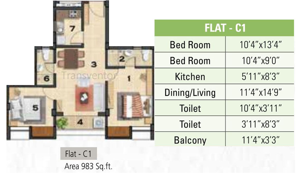 Ganguly 4sight Cityhouse Floor Plan 1