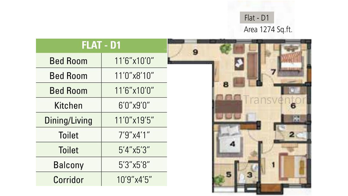 Ganguly 4sight Cityhouse Floor Plan 4