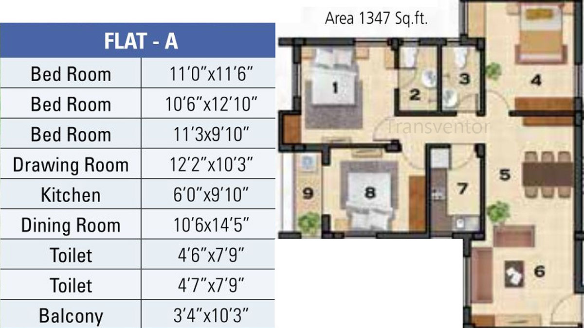 Ganguly 4sight Cityhouse Floor Plan 5
