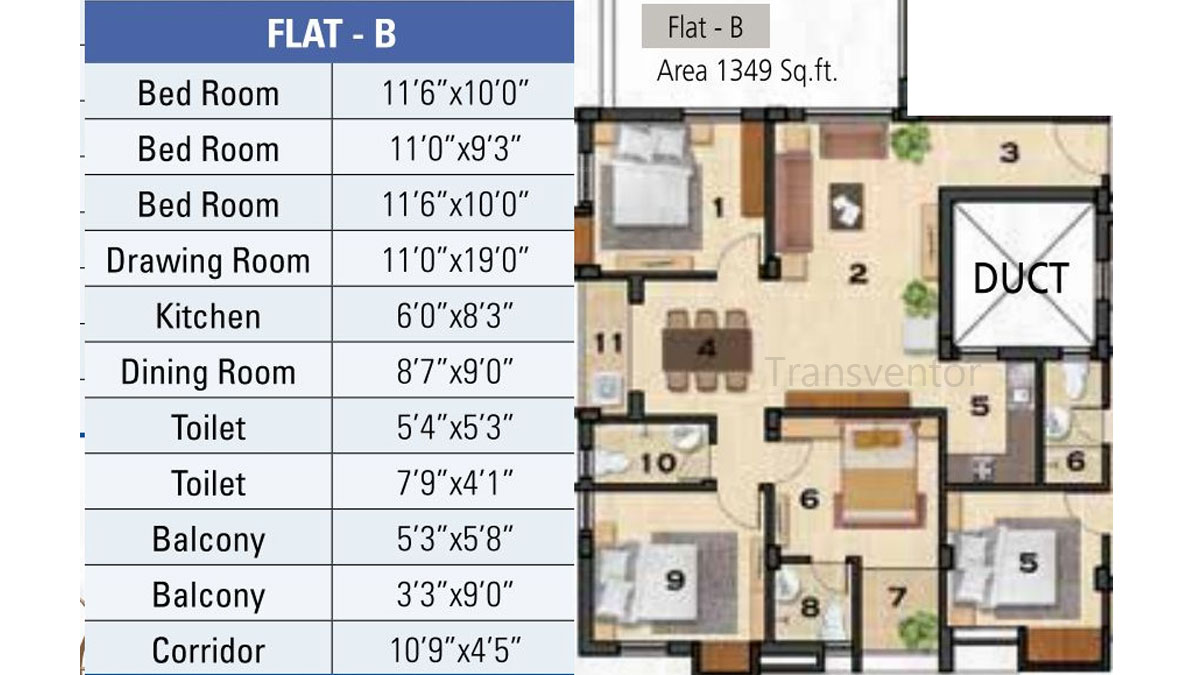 Ganguly 4sight Cityhouse Floor Plan 6