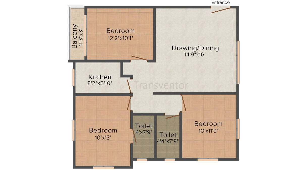 Ganguly 4sight Maple Floor Plan 4