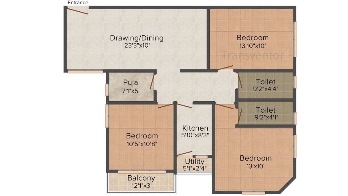 Ganguly 4sight Maple Floor Plan 5