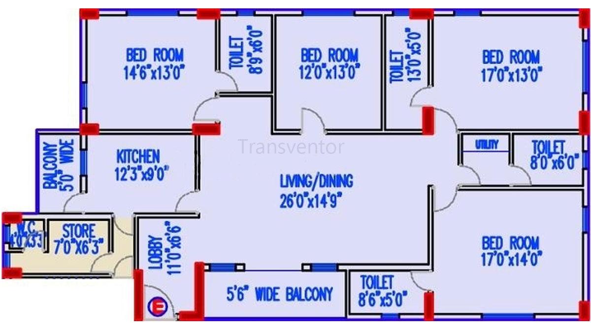 Akshara Vilaas Floor Plan 2