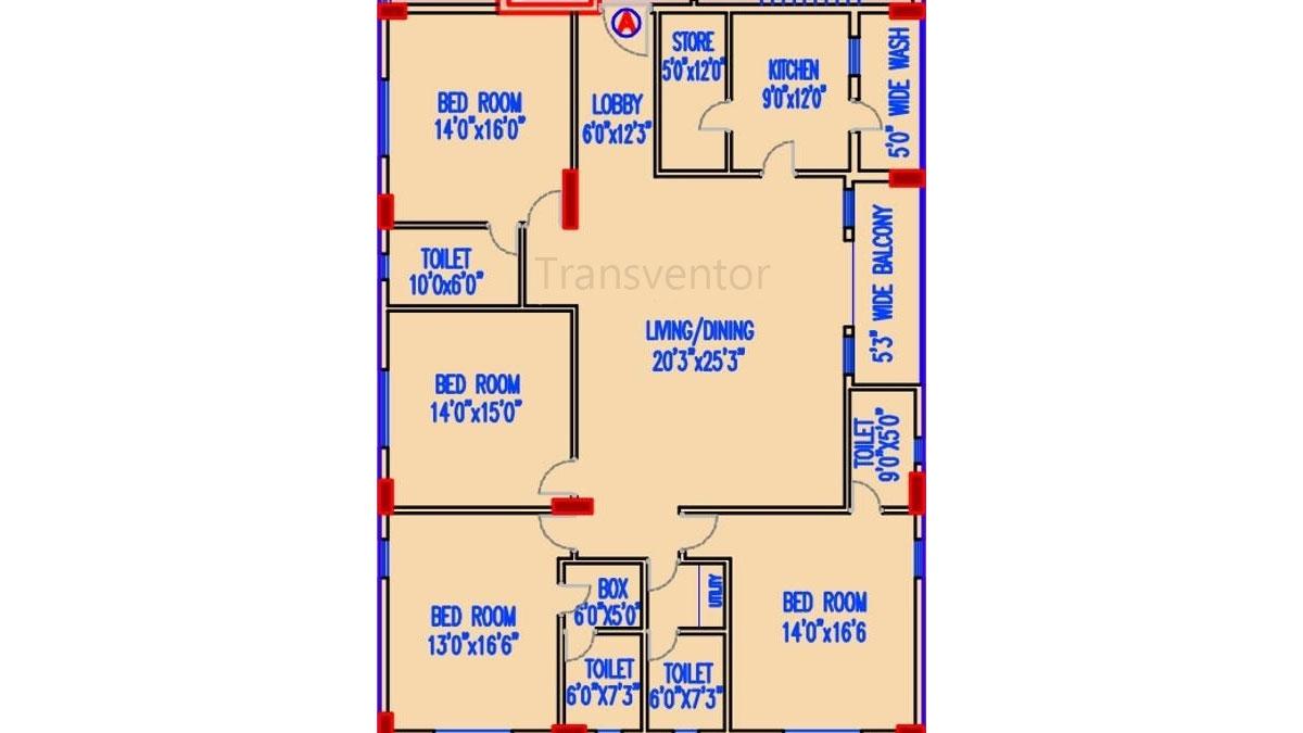 Akshara Vilaas Floor Plan 3
