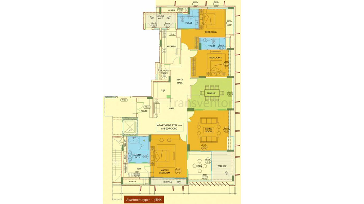 Keventer Crosswinds Floor Plan 1