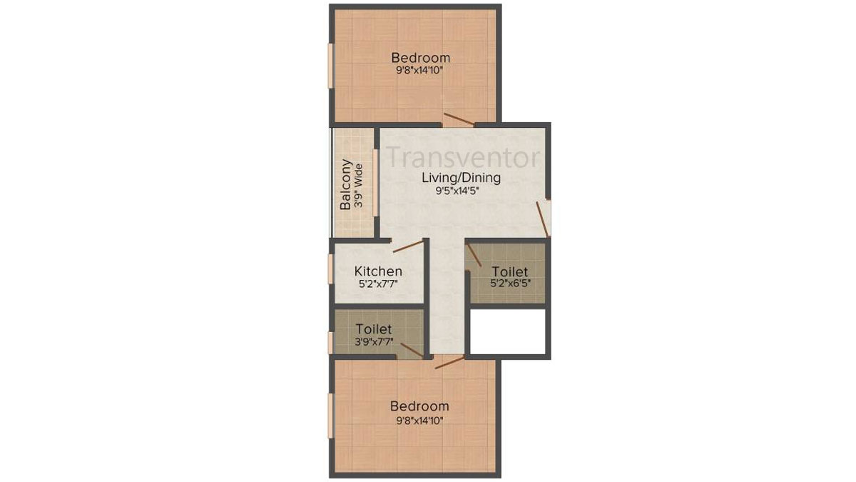 Fabulous Duo Floor Plan 1