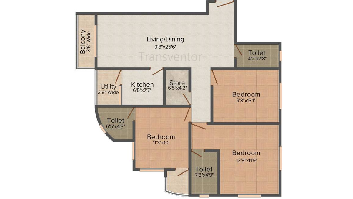 Fabulous Duo Floor Plan 6