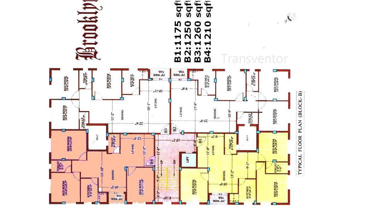 Esteem Brooklyn Floor Plan 1