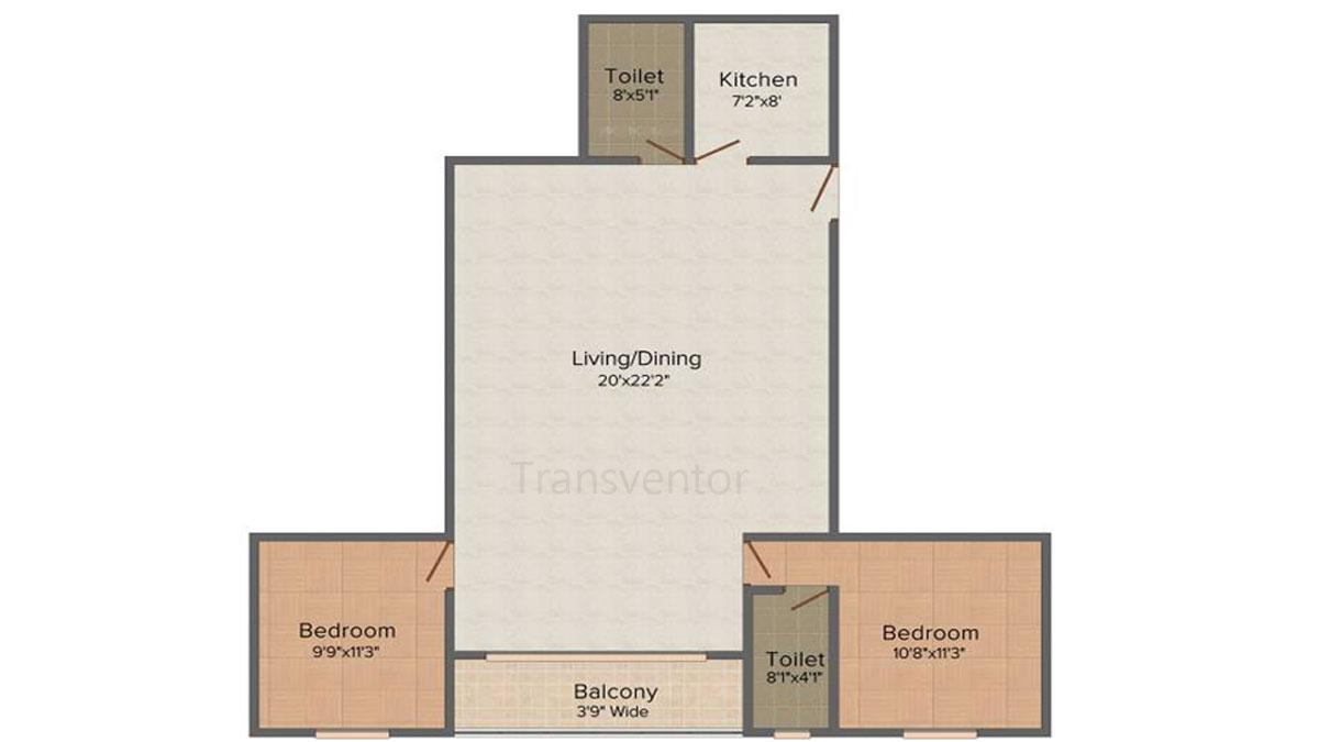 Fabulous Uno Floor Plan 2