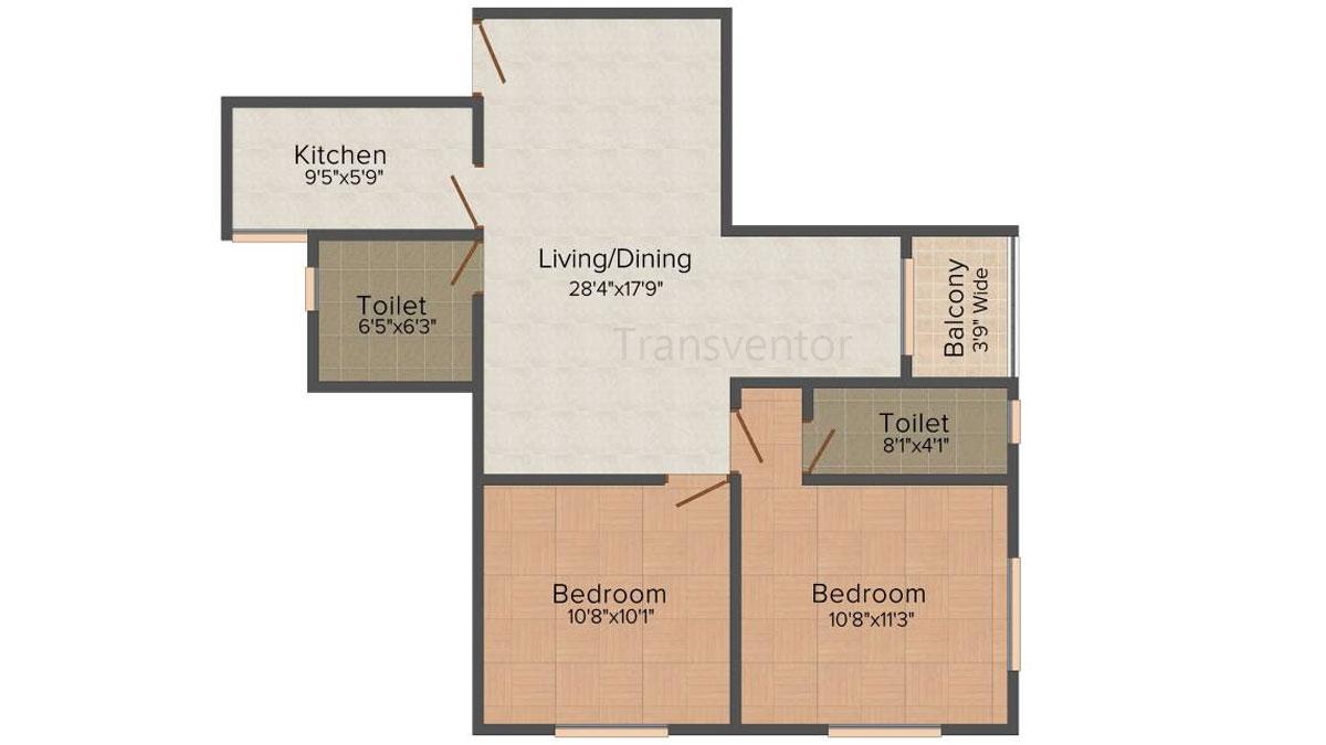 Fabulous Uno Floor Plan 3