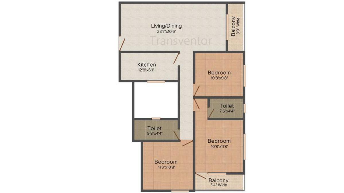 Fabulous Uno Floor Plan 5