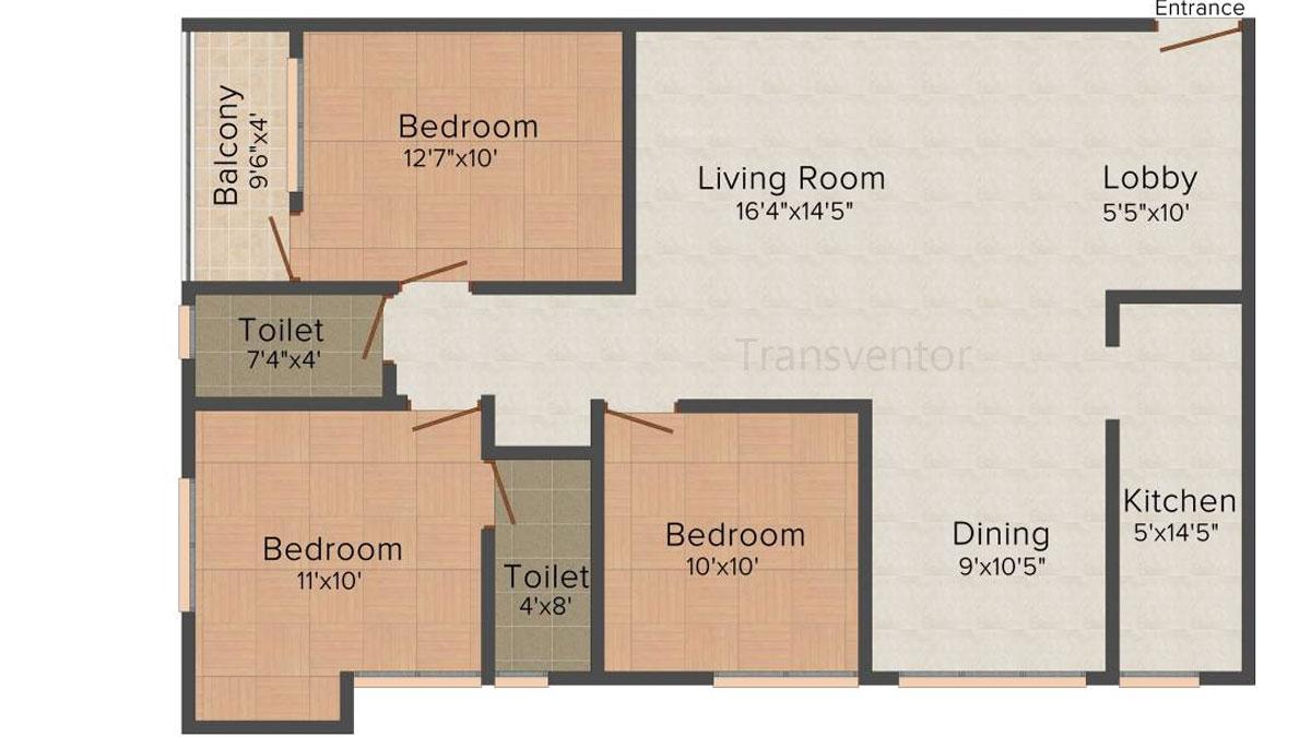Multicon Sigma Floor Plan 3