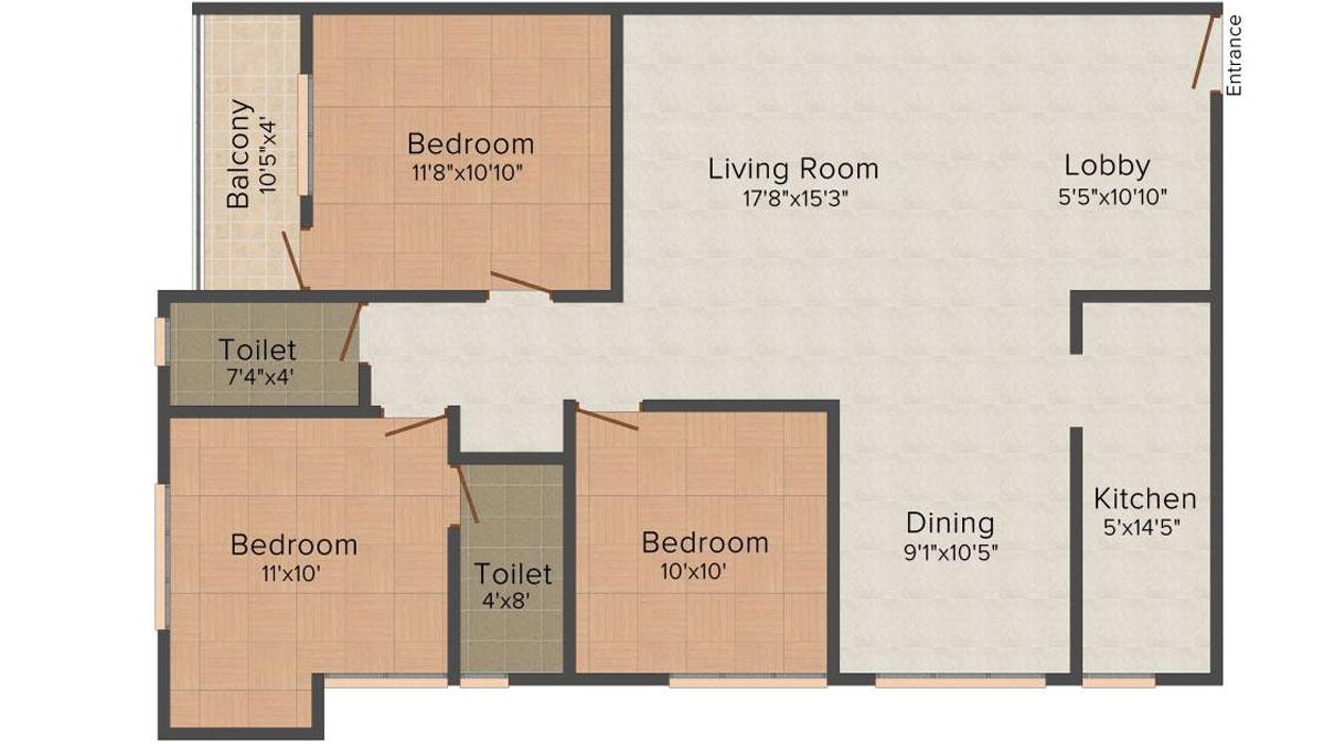 Multicon Sigma Floor Plan 4