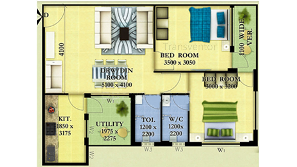 Skywood Nestwood Maple Floor Plan 4