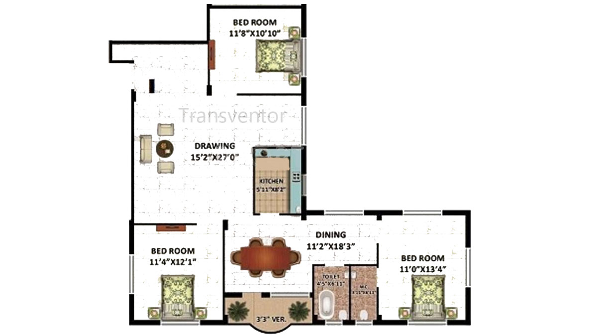 Rajwada Estate Phase II Floor Plan 5