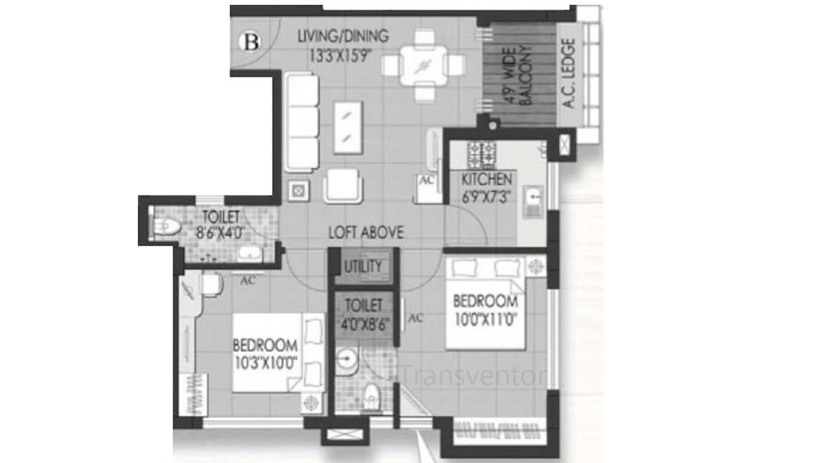 Rungta Madgul Shreepuram Floor Plan 1