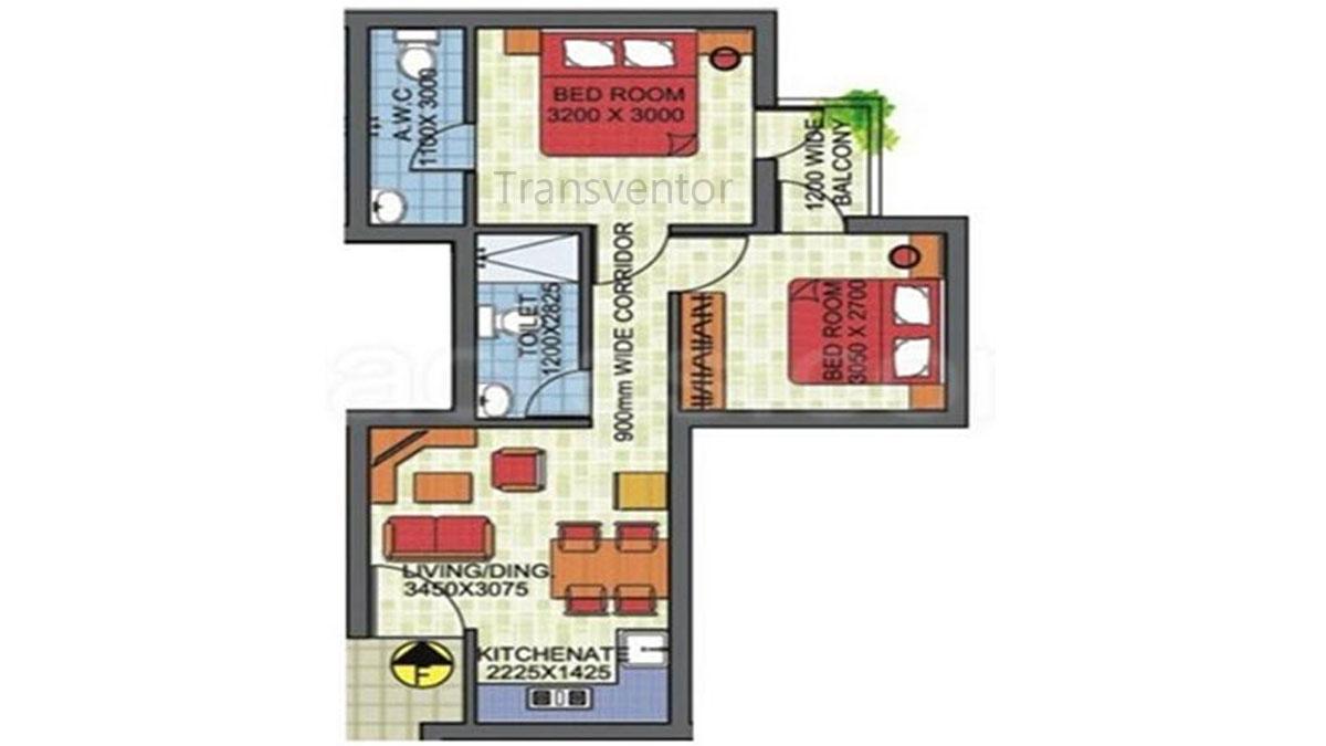 Sanhita Floor Plan 4