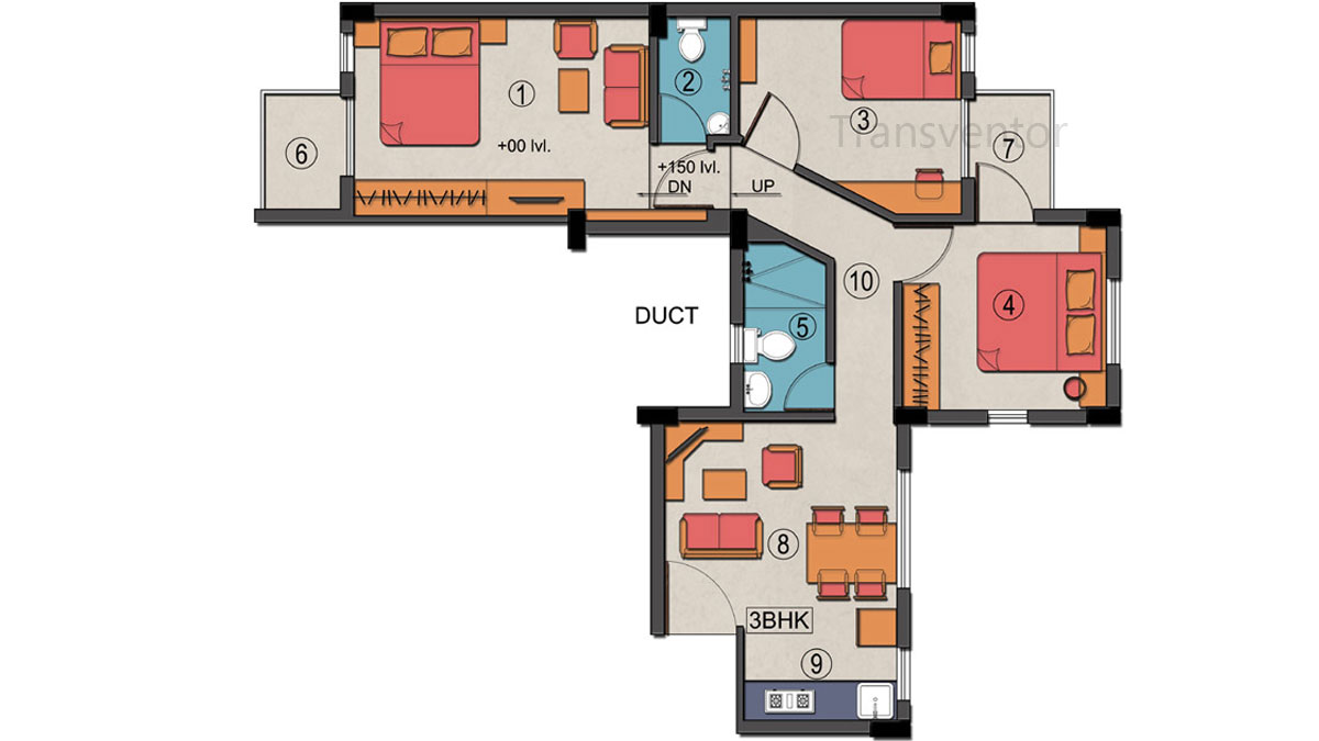 Sanhita Floor Plan 6