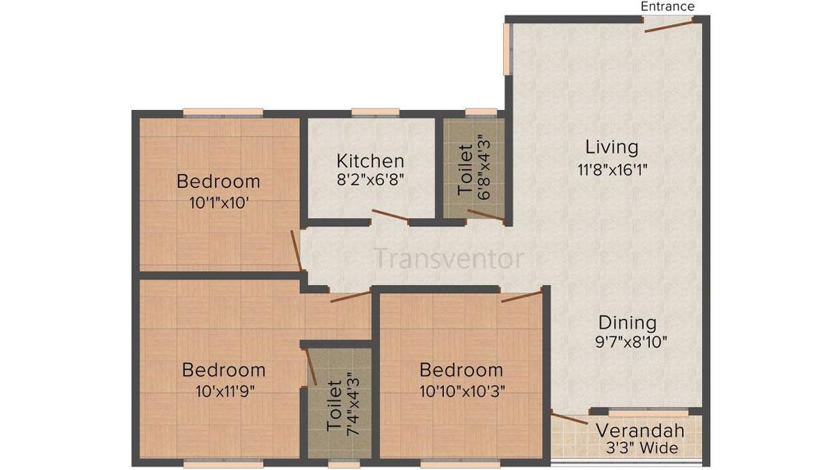 Skyline Harmony Floor Plan 2