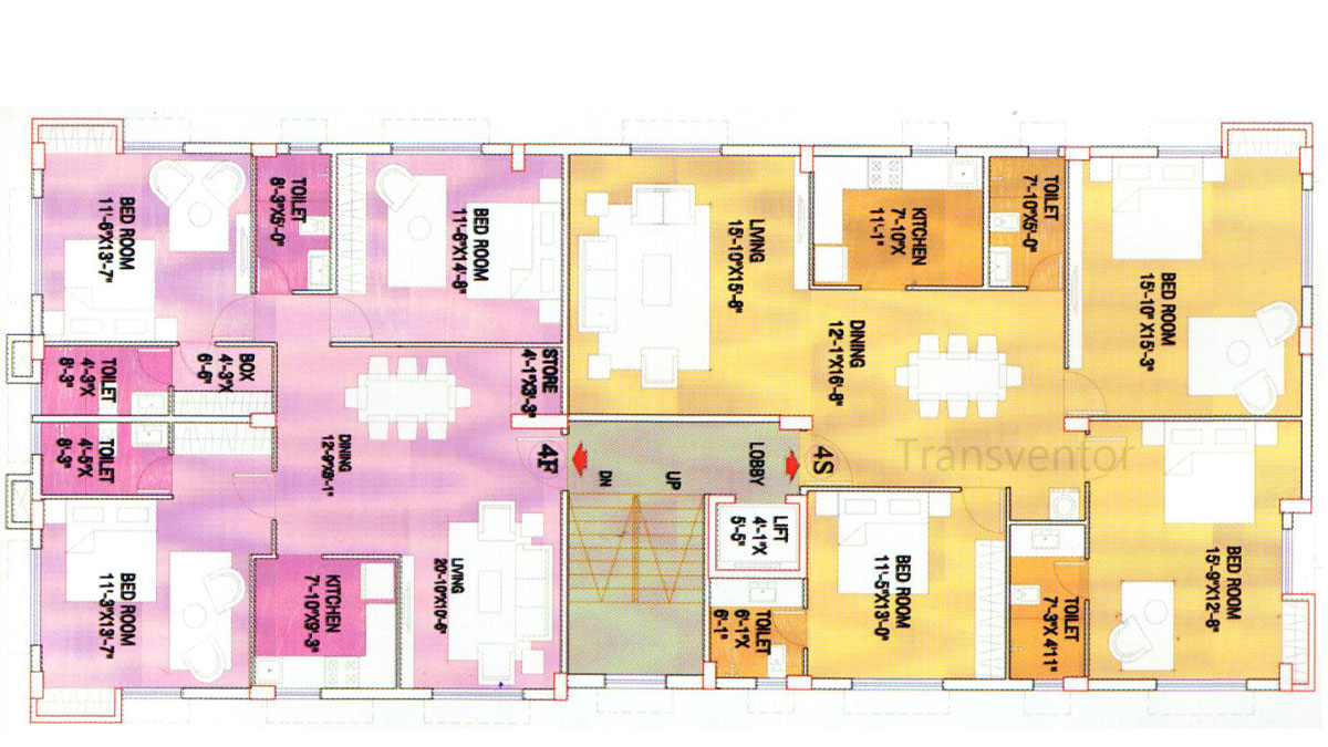 Swastic Tolly Cottage Floor Plan 2