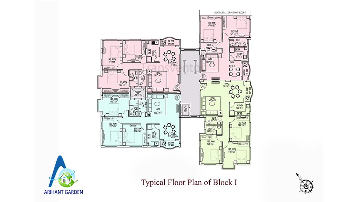 Arihant Garden Floor Plan 2