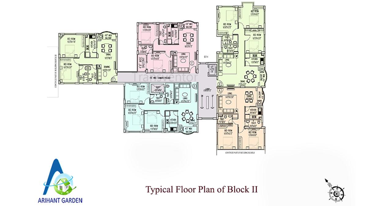 Arihant Garden Floor Plan 3
