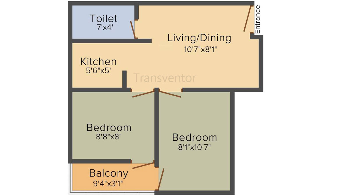 Bengal Teen Kanya Floor Plan 1