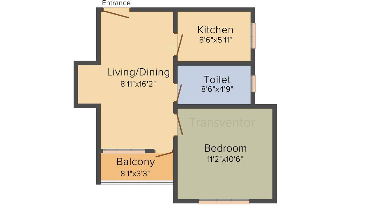 Cancun Iris Floor Plan 2