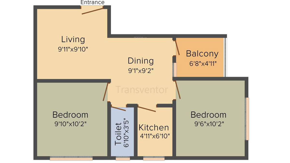 Cancun Iris Floor Plan 3
