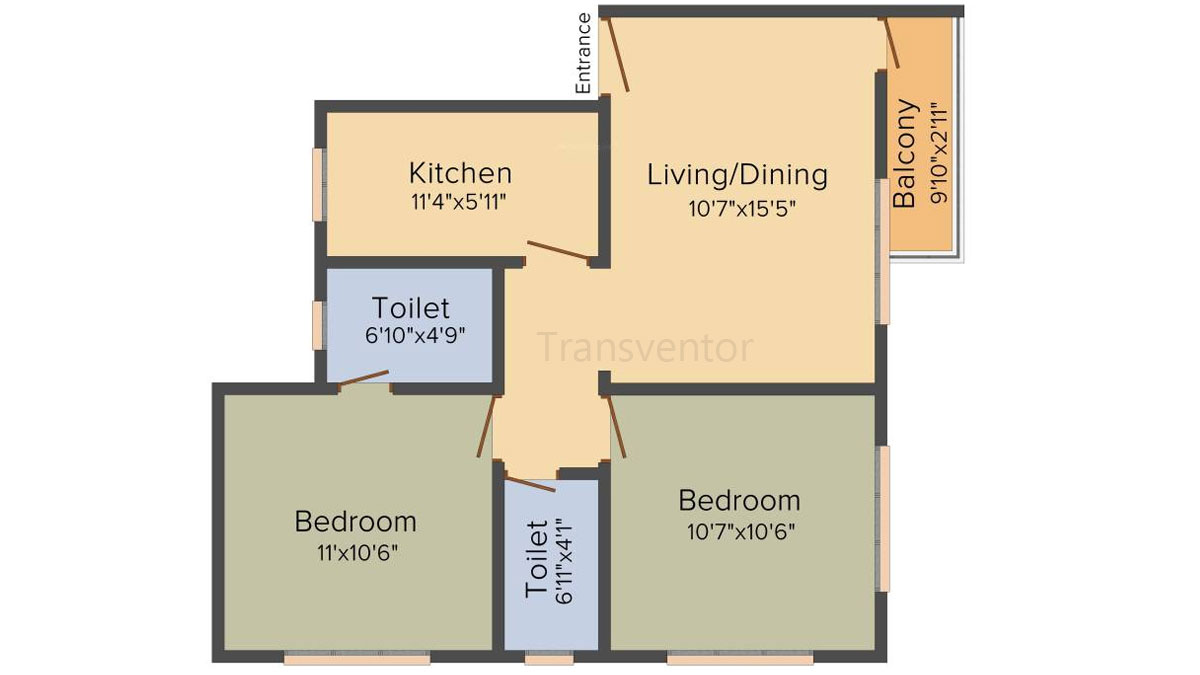 Cancun Iris Floor Plan 4