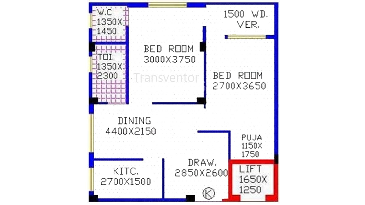 Club Residenza Floor Plan 1