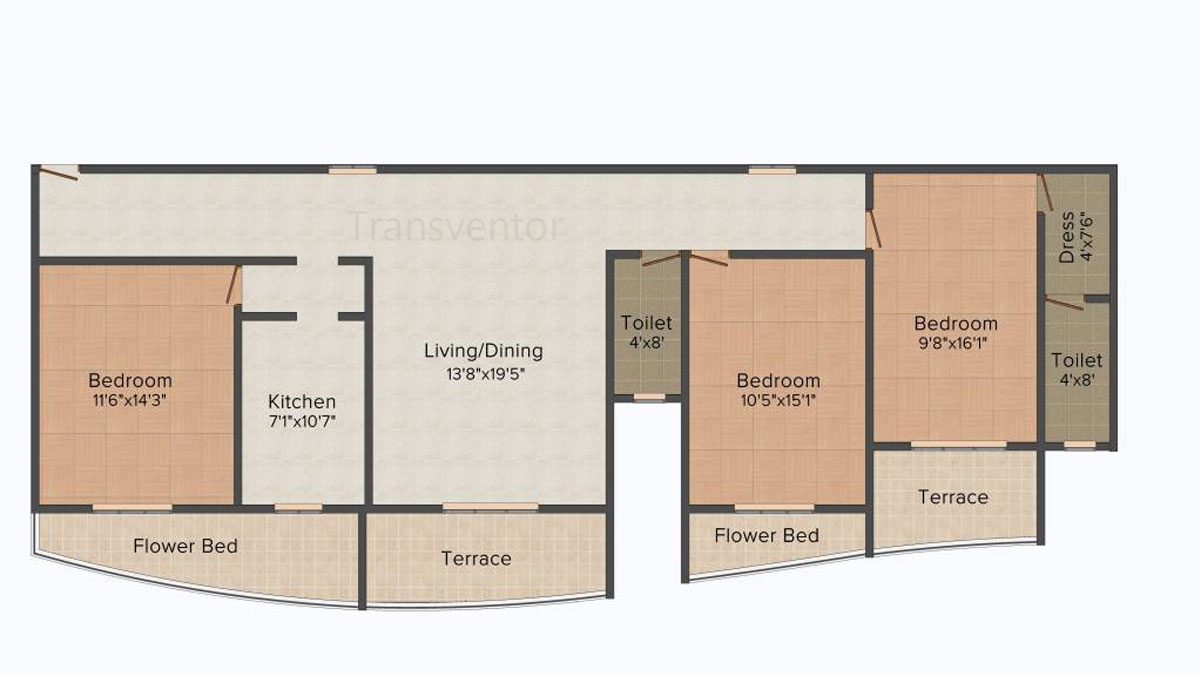 Team Deja Vu Floor Plan 3